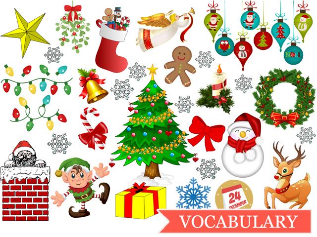 Игры с карточками на тему «Christmas»